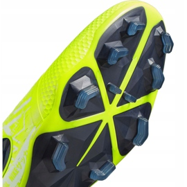 Buty piłkarskie Nike Phantom Venom Elite Fg M AO7540-717 żółte wielokolorowe 5