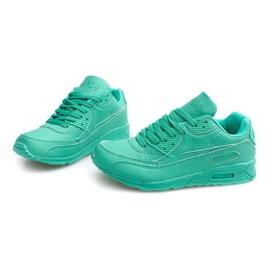 Sneakersy Adidasy Neon LC4005 Miętowy wielokolorowe zielone 3