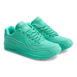 Sneakersy Adidasy Neon LC4005 Miętowy wielokolorowe zielone 1