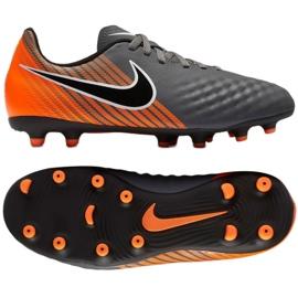 Buty piłkarskie Nike Magista Obra Ii Club szare wielokolorowe 2