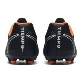 Nike Buty piłkarskie Tiempo Legend 7 Club Fg Jr czarne czarne 1