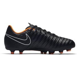 Nike Buty piłkarskie Tiempo Legend 7 Club Fg Jr czarne czarne 4