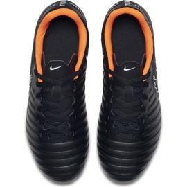 Nike Buty piłkarskie Tiempo Legend 7 Club Fg Jr czarne czarne 5