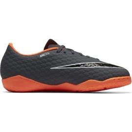 Buty piłkarskie Nike Hypervenom PhantomX szare szare 4