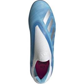 Buty piłkarskie adidas X 19.3 Ll Tf M EF0632 niebieskie niebieskie 1
