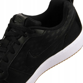 Buty Nike Court Borough Low Se M 916760-003 czarne 6