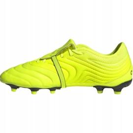 Buty piłkarskie adidas Copa Gloro 19.2 Fg M F35491 żółte różowe 1