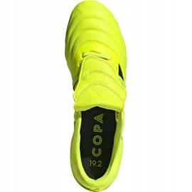 Buty piłkarskie adidas Copa Gloro 19.2 Fg M F35491 żółte różowe 2