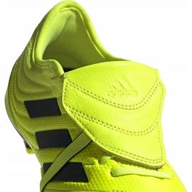 Buty piłkarskie adidas Copa Gloro 19.2 Fg M F35491 żółte różowe 3