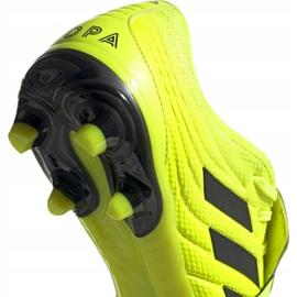Buty piłkarskie adidas Copa Gloro 19.2 Fg M F35491 żółte różowe 4