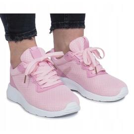 Różowe sportowe Roxane 3