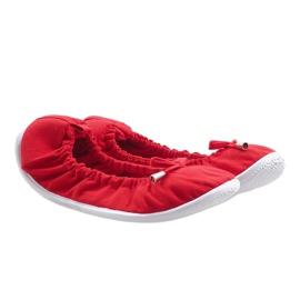 Klasyczne Balerinki VB1 Czerwony czerwone 1