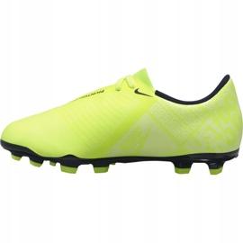 Buty piłkarskie Nike Phantom Venom Club Fg Jr AO0396-717 żółte żółte 1