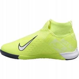 Buty halowe Nike Phantom Vsn Academy Df Ic Jr AO3290-717 żółty żółte 1