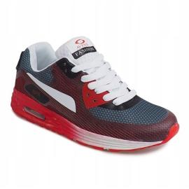 Sportowe Trampki B49-6 Czerwony czerwone wielokolorowe 3