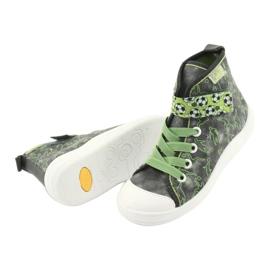 Befado obuwie dziecięce 268X070 szare zielone 5