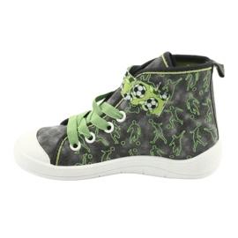 Befado obuwie dziecięce 268X070 szare zielone 3