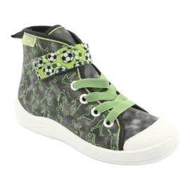 Befado obuwie dziecięce 268X070 szare zielone 2