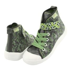 Befado obuwie dziecięce 268X070 szare zielone 4