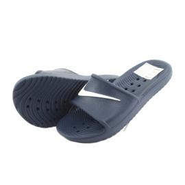 Klapki Nike Kawa Shower 832528 400 białe granatowe 4