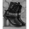Bestelle Biker Boots czarne 3