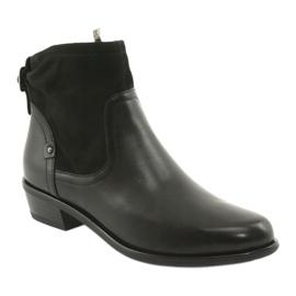 Botki damskie Caprice 25335 czarny czarne 1