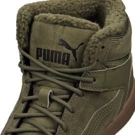 Buty Puma Rebound LayUp Sd Fur M 369831-03 zielone 4