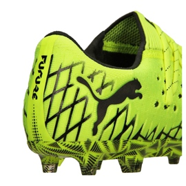 Buty do piłki nożnej Puma Future 4.1 Netfit Low Fg / Ag M 105730-02 żółte żółte 1