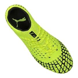 Buty do piłki nożnej Puma Future 4.1 Netfit Low Fg / Ag M 105730-02 żółte żółte 2