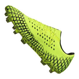Buty do piłki nożnej Puma Future 4.1 Netfit Low Fg / Ag M 105730-02 żółte żółte 4