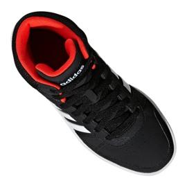 Buty adidas Hoops Mid 2.0 K Jr B75743 czarne 2