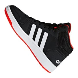Buty adidas Hoops Mid 2.0 K Jr B75743 czarne 4