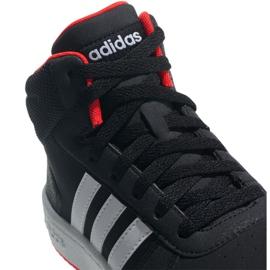 Buty adidas Hoops Mid 2.0 K Jr B75743 czarne 5