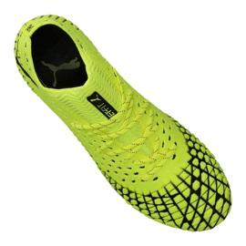 Buty do piłki nożnej Puma Future 4.1 Netfit Fg / Ag M 105579-03 żółte żółty 2