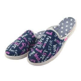 Befado kolorowe obuwie dziecięce     707Y397 wielokolorowe 4