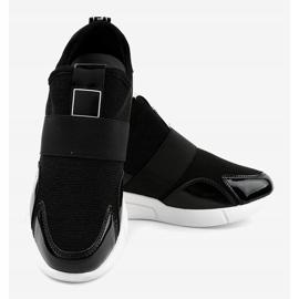 Czarne damskie obuwie sportowe X-9761 4