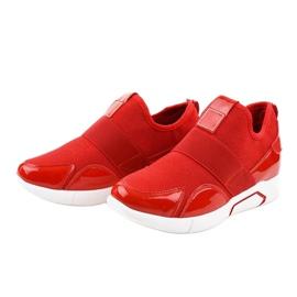 Czerwone damskie obuwie sportowe X-9761 2
