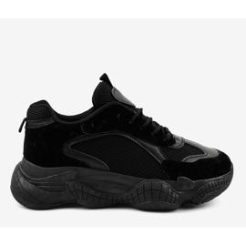 Czarne damskie obuwie sportowe ZF-54 2