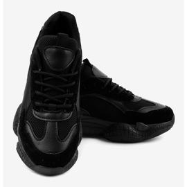 Czarne damskie obuwie sportowe ZF-54 4