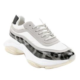 Szare obuwie sportowe snake YY-02 1