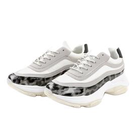 Szare obuwie sportowe snake YY-02 3