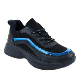 Granatowe obuwie sportowe sneakersy BY-082 1