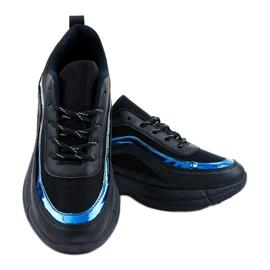 Granatowe obuwie sportowe sneakersy BY-082 2