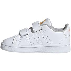 Buty adidas Advantage I Jr EF0305 białe 2