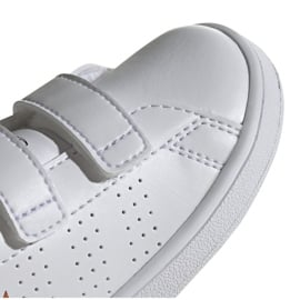 Buty adidas Advantage I Jr EF0305 białe 3