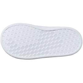 Buty adidas Advantage I Jr EF0305 białe 6