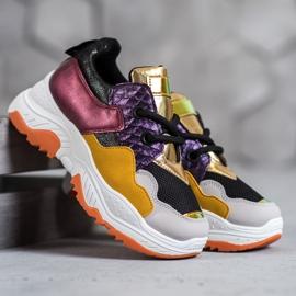 SHELOVET Wielokolorowe Sneakersy 1