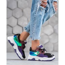 SHELOVET Wielokolorowe Sneakersy 5