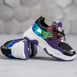 SHELOVET Wielokolorowe Sneakersy 2