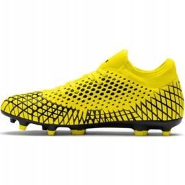 Buty piłkarskie Puma Future 4.4 Fg Ag M 105613 03 żółte żółte 2